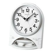 【新品取寄せ品】セイコークロック 目覚まし時計 NR436W