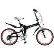 「メーカー直送」TL-207-BK トニーノ・ランボルギーニ 20インチ折畳自転車 ブラック