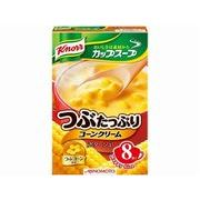 【代引不可】AJINOMOTO 味の素 クノール カップスープ つぶたっぷりコーンクリーム 8袋 x6