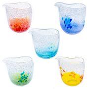 【大人気の琉球ガラス】暑い夏にぴったり!泡花見片口