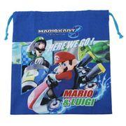 スーパーマリオ[巾着袋]きんちゃくM/マリオカート8
