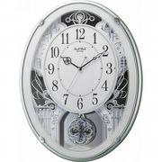 【代引不可】 スモールワールド メロディ電波掛時計(18曲入) 壁掛け時計