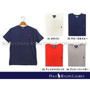 【ラルフローレン】 ボーイズ クラシック コットン Tシャツ 全4色 メンズ&レディース