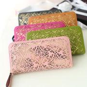 財布/ハンドバッグ/個性/ファッション/ピアス/ステレオ/ロングスタイル/女性財布/財布