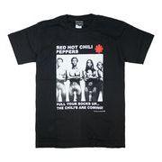 ロックTシャツ Red Hot Chili Peppers レッド ホット チリ ペッパーズ PULL YOUR SOCKS UP..