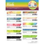 Rink �u�ʂ�v �}�X�L���O�e�[�v  Colorful pattern masking tape