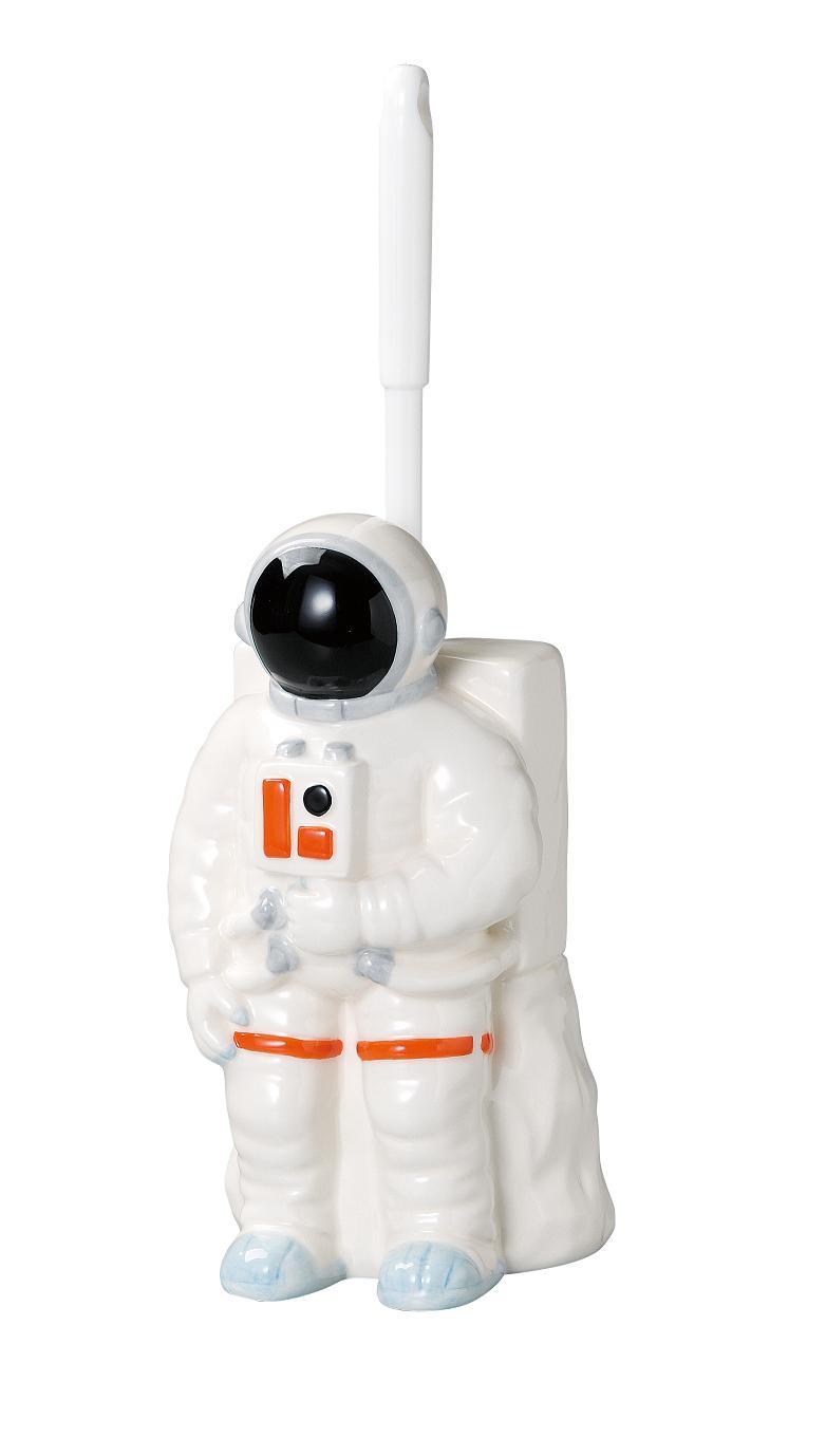 【おしゃれ雑貨/インテリア】トイレット ブラッシュ スタンド / 宇宙飛行士