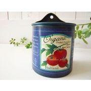 【SALE】 ブリキハンギング フラワーポット トマト