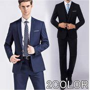 セットアップ ダブルスーツ メンズ 結婚式 礼服 ビジネス スリム  20代 30代 40代