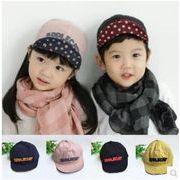 ★大人気キッズ・ベビーファションキャップ★キッズ帽子★両面兼用野球帽子