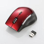 エレコム ワイヤレスBlueLEDマウス M-BL22DBRD
