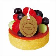 sweets candle ドルチェキャンドル 「 フルーツタルト 」 キャンドル
