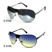 メタルフレームサングラス(UVカット)X-2103【EX】
