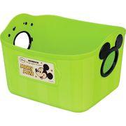 【ケース販売は送料無料!!】錦化成 カラーボックス ミッキーマウス ミニやわらかバケツ SQ5 グリーン