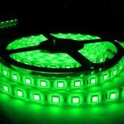 LEDテープライト/5050型チップ/グリーン/5M/300発/IP68防水