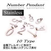 ステンレス★ナンバーペンダント★SK-Trade