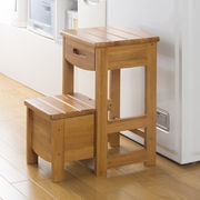 便利収納 木製踏み台