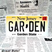 好きな文字にできるアメリカナンバープレート(大・US車用サイズ)ニュージャージー