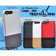 <スマホ・・6プラス用>被写体に1cmまで寄れる!iPhone6 Plus用マクロレンズ付きケース