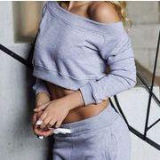 ★人気高い★素敵★ファッションシンプルスタイル スウェット トレーナー  ズボン  jrfpfs-cb817