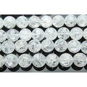 クラック水晶 10mm 1連(約40cm)_R297/A7-5