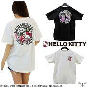 【セール12069】大きいサイズ☆HELLO KITTY ハローキティちゃん 前後プリントTシャツ ☆ LL~4L ネコポス