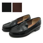 ★定番/学生靴/通勤/シンプルなローファーが、お値段以上で新登場♪
