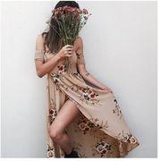 【ニュースタイル !!】夏物★ロングスカート★ワンピース★欧米風★砂浜スカート★女