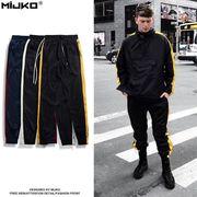 メンズ パンツ スウェットパンツ ロング カジュアル 男 女 カップル 春 夏 かっこいい コットン 全3色