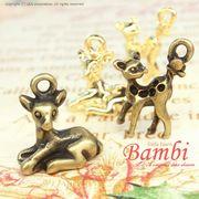 "★L&A Original Parts★Gold&金古美★アクセサリー作製かわいいチャーム♪118 ""Bambi"""