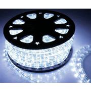【ホワイト・白】LEDチューブライト(ロープライト)2芯タイプ/100m/直径10mm/3000球