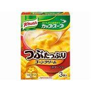 【代引不可】AJINOMOTO 味の素 クノール カップスープ つぶたっぷりコーンクリーム 3袋 x10