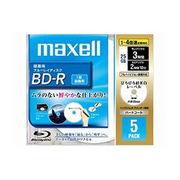 maxell 4倍速対応BD-R 5枚パック 25GB ホワイトプリンタブル BR25VFWPB5S