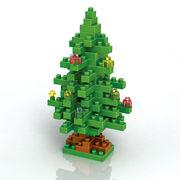 格安☆子供も大人もハマるブロック◆ホビー・ゲーム◆ブロックおもちゃ◆積み木◆玩具◆クリスマスツリー