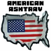 AMERICAN ASHTRAY COUNTRY �y�D�M �A�����J�� �}�b�v ����z
