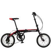 【メーカー直送】 104-RD blackbulletII ドッペルギャンガー 16インチ 折り畳み自転車