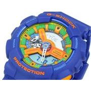 カシオ CASIO Gショック G-SHOCK クレイジーカラーズ 腕時計 GA110FC-2A