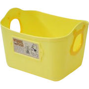 【ケース販売は送料無料!!】錦化成 カラーボックス くまのプーさん ミニやわらかバケツ SQ5 イエロー