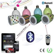 Bluetoothスピーカー搭載LED電球  ワイヤレススピーカー LED電球 スピーカー E26