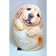 【HenryCats&Friends】ヘンリーキャット 犬型クッション 大 デニー インテリア 犬 イヌ 雑貨