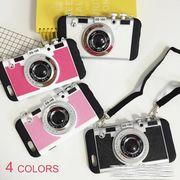 全4色★立体一眼カメラスマホケース[iPhone6/6s対応] :E02B5694
