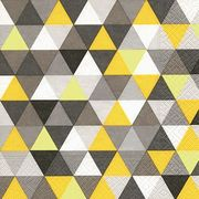 Paper+Design ペーパーナプキン トライアングルパターン