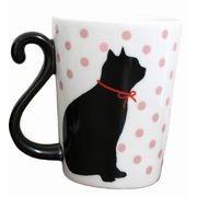 マグカップル くろねこドット【クロネコ】【黒猫】【ギフト】