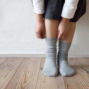 【日本製】良いものを長く、健やかに。上質なシルクの靴下◆ダブルSILKソックス ベーシック