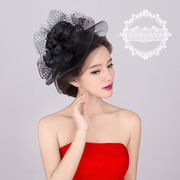 ウェディングハット/花嫁/ブライダル/パーティーハット/髪飾り/帽子/貴族風/披露宴