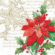 Paw Decor  Collection ペーパーナプキン クリスマス <ポインセチア>