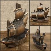 アンティークシャープナー 鉛筆けずり ♪レトロ 帆船♪