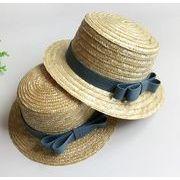 夏新型★韓国風★親子用麦わら帽子★日除け帽★親子帽子