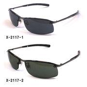 【新製品】メタルフレームサングラス(UVカット)X-2117-1X2117-2
