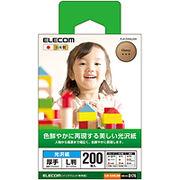 エレコム 光沢紙 美しい光沢紙(L判/200枚) EJK-GANL200